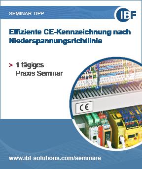 Seminar Effiziente CE-Kennzeichnung nach Niederspannungsrichtlinie
